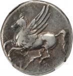 ACARNANIA. Argos Amphilochicum. AR Stater (8.28 gms), ca. 350-300 B.C.