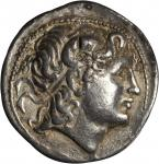 THRACE. Kingdom of Thrace. Lysimachos, 323-281 B.C. AR Tetradrachm (17.02 gms), Cyzicus Mint. EXTREM