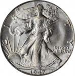 1947-D Walking Liberty Half Dollar. MS-67 (PCGS). CAC.