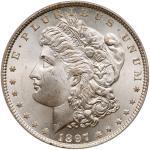 1897 Morgan Dollar. PCGS MS65