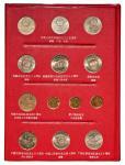 流通纪念币定位册