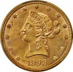 1898 Liberty Head Eagle. Unc Details--Cleaned (PCGS).
