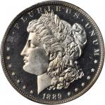 1889 Morgan Silver Dollar. Proof-65 Cameo (PCGS). CAC.
