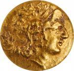 PONTOS. Kingdom of Pontos. Mithradates VI, 120-63 B.C. AV Stater, Tomis Mint, ca. 88-86 B.C. ICG EF