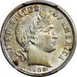 1908 Barber Dime. MS-67 (PCGS). CAC.