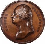 1883 Si Quaeris Monumentum Circumspice medal. Musante GW-208, Baker-96. Copper, Bronzed. SP-65 (PCGS