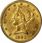 1892-O Liberty Head Eagle. Winter-1, the only known dies. MS-62 (PCGS).