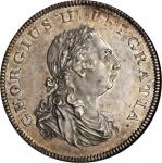 GREAT BRITAIN. Pattern Dollar, 1804. George III (1760-1820). NGC MS-64.