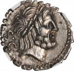 ROMAN REPUBLIC. Q. Antonius Balbus. AR Denarius Serratus (4.02 gms), Rome Mint, ca. 83 B.C.