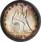 1889 Liberty Seated Quarter. MS-65 (PCGS). CAC.