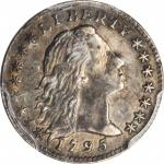1795 Flowing Hair Half Dime. LM-8. Rarity-3. EF Details--Damage (PCGS).
