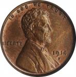 1914-D Lincoln Cent. MS-63 RB (NGC). OH.