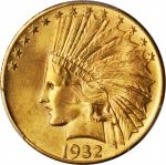 1932 Indian Eagle. MS-64+ (PCGS).