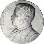 1905 Theodore Roosevelt Second Term Presidential Medal, Struck In Aluminum. 76.5 mm. 58.0 grams. F&H