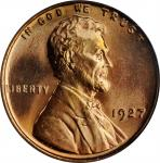 1927 Lincoln Cent. MS-67 RD (PCGS).