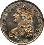 1836 Capped Bust Half Dollar. Lettered Edge. O-116. Rarity-7 as a Proof. 50/00. Proof-64 (PCGS). CAC