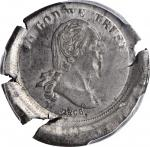 1866 Pattern Washington Five Cents. Judd-479, Pollock-569. Rarity-8. White Metal. Plain Edge. Proof-