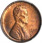 1909-S Lincoln Cent. V.D.B. MS-63 RB (PCGS).