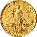 1924 Saint-Gaudens Double Eagle. MS-66+ (NGC).