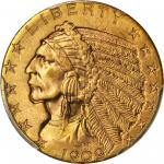 1909 Indian Half Eagle. MS-64 (PCGS).