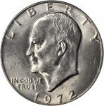 1972-D Eisenhower Dollar. MS-67 (PCGS).