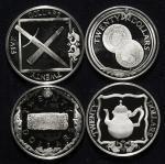 BRITISH VIRGIN ISLANDS イギリス领ヴァージン诸岛 20Dollars1985(×3) / 25Dollars 1988 返品不可 要下见 Sold as is No return