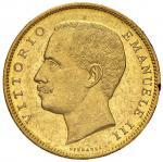 1903年伊曼纽尔三世20里拉 近未流通 Emanuele III 20 Lire