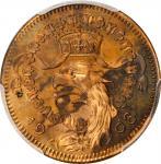 GERMANY. Copper 25 Pfennig Pattern, 1908-D. Munich Mint. PCGS SPECIMEN-65 Red Brown.
