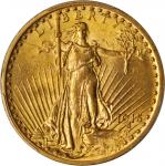 1915 Saint-Gaudens Double Eagle. MS-62 (PCGS).