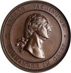 1878 Valley Forge Centennial Medal. Bronze. 41 mm. Musante GW-959, Baker-449A, HK-137. MS-65 (PCGS).