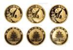 1993年熊猫纪念金币1/10盎司 完未流通