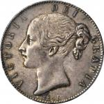 GREAT BRITAIN. Crown, 1845. PCGS MS-62 Secure Holder.