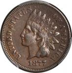 1877 Indian Cent. EF-40 (PCGS).