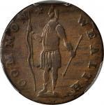 1788 Massachusetts Cent. Ryder 3-A, W-6210. Rarity-4-. Period After MASSACHUSETTS. VF-20 (PCGS).