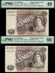 Bank of England, John Brangwyn Page (1970-1980), replacement £10 (2), ND (1971), serial number M01 6