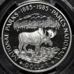 CANADA カナダ Dollar 1985  PCGS-PR70 DCAM Proof