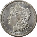 1893-CC Morgan Silver Dollar. MS-64+ (PCGS). CAC.