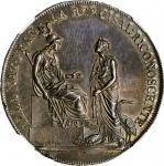 ITALY. Cisalpine Republic. Scudo of 6 Lire, Year VIII (1800). Milan Mint. NGC MS-63.