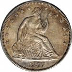 1877-CC Liberty Seated Half Dollar. Type I Reverse. WB-4. Rarity-4. Medium CC. AU Details--Damage (P