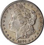 1879-CC Morgan Silver Dollar. Clear CC. AU-50 (PCGS).
