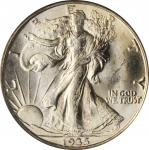 1935-D Walking Liberty Half Dollar. MS-64 (PCGS). CAC.