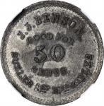 New York. 1st New York Mounted Rifles. John J. Benson. 50 Cents. Schenkman NY-1-50I (NY-A50WM). Rari