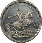 Circa 1860 Equestrian / Home of Washington medal by George H. Lovett. Musante GW-279, Baker-114D. Wh