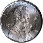2000 Lincoln Cent--Overstruck on a 2000-P Roosevelt Dime--MS-66 (PCGS).