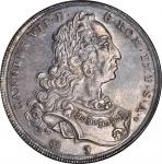 GERMANY. Augsburg. Taler, 1744-IT. NGC MS-61.