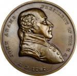 """1797"" (circa 1905) John Adams Indian Peace Medal. Bronze. First Size. Julian IP-1, var., Prucha-59,"