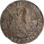 GERMANY. Saxony. Taler, 1580-HB. Dresden Mint. August. NGC AU-58.
