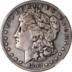 1893-S Morgan Silver Dollar. VF-20 (NGC).
