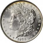1878 Morgan Silver Dollar. 7/8 Tailfeathers. Strong. MS-65 (PCGS). CAC.
