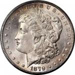 1879-CC Morgan Silver Dollar. Clear CC. MS-64 (PCGS).